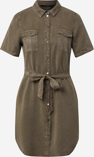 VERO MODA Hemd Midikleid in khaki, Produktansicht