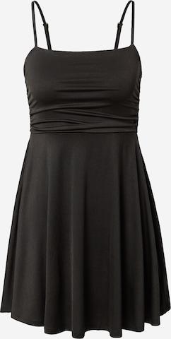 NA-KD Cocktail dress 'Gathered' in Black
