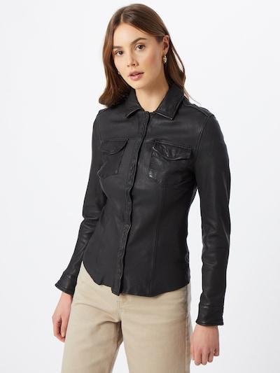 Goosecraft Blouse in de kleur Zwart, Modelweergave