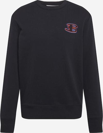 Ben Sherman Sweatshirt in royalblau / melone / schwarz, Produktansicht