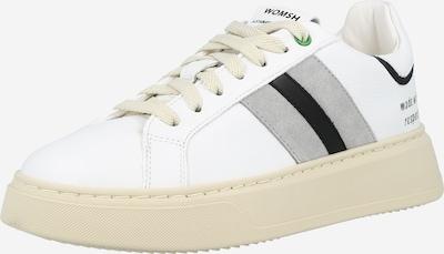 WOMSH Zemie brīvā laika apavi, krāsa - pelēks / melns / balts, Preces skats