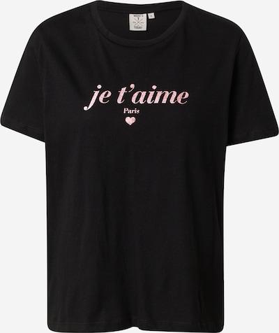OVS Shirt 'SAN VALENTINO' in pink / schwarz, Produktansicht