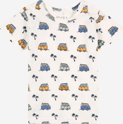 Hust & Claire T-Shirt en ivoire / bleu / jaune, Vue avec produit