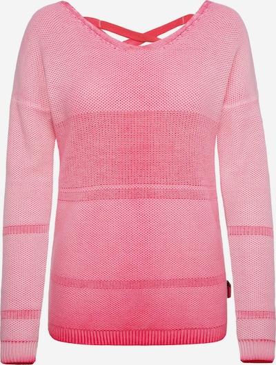 Soccx Pullover mit Schnürung am Rücken in pink, Produktansicht