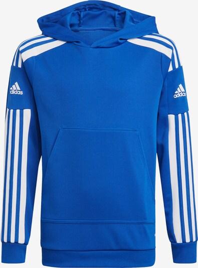 ADIDAS PERFORMANCE Sportsweatshirt in royalblau / weiß, Produktansicht