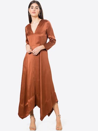 IVY & OAK Koktel haljina u hrđavo smeđa, Prikaz modela