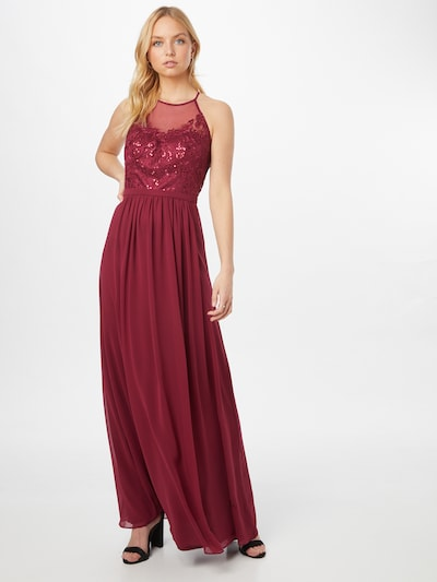 VM Vera Mont Kleid in himbeer, Modelansicht
