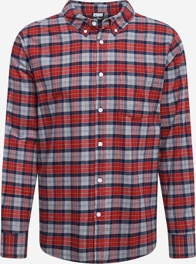 Urban Classics Krekls grafīta / gaiši pelēks / gaiši sarkans, Preces skats