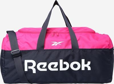 REEBOK Sporttasche in nachtblau / pink / weiß, Produktansicht