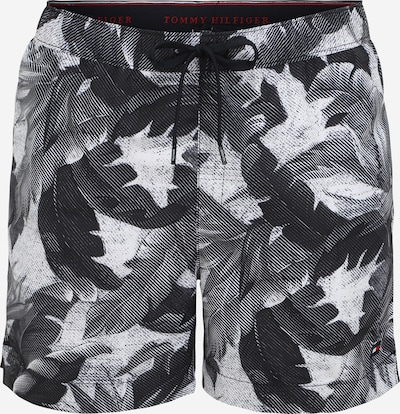 Tommy Hilfiger Underwear Zwemshorts in de kleur Zwart / Wit, Productweergave