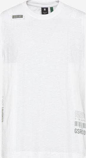 G-Star RAW Shirt in grau / weiß, Produktansicht