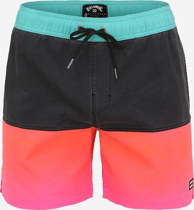 BILLABONG Sporta peldbikses tirkīza / oranžs / rozā / melns, Preces skats