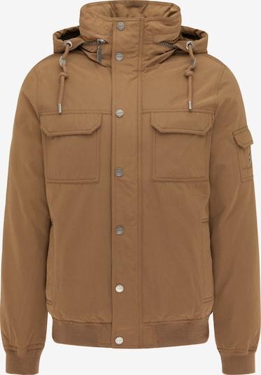 DreiMaster Klassik Winterjas in de kleur Lichtbruin, Productweergave