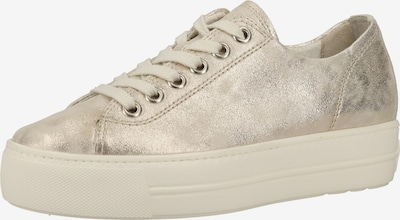 Paul Green Sneaker in gold, Produktansicht