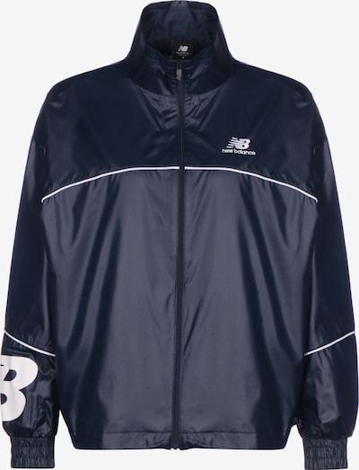 new balance Windbreaker ' Athletics ' in blau, Produktansicht