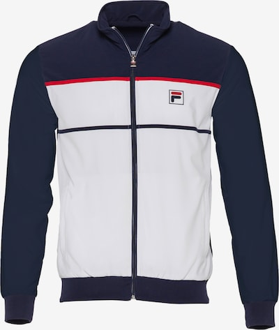 FILA Athletic Jacket in Night blue / Red / White, Item view