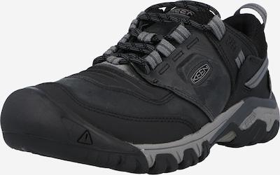 KEEN Chaussure basse 'Ridge Flex' en gris fumé / noir, Vue avec produit