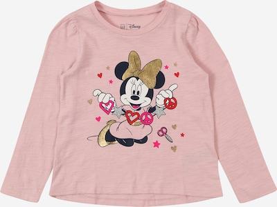 GAP Shirt in gold / pink / rosa / schwarz / weiß, Produktansicht