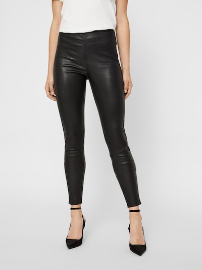 Y.A.S Leggingsit 'Zeba' värissä musta, Mallinäkymä
