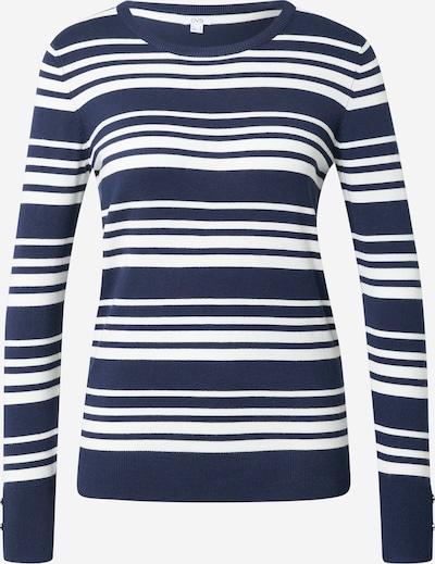 OVS Pulover | temno modra / bela barva, Prikaz izdelka