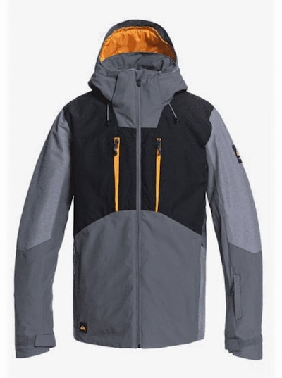 QUIKSILVER Snowboardjacke 'MISSION PLUS' in grau, Produktansicht