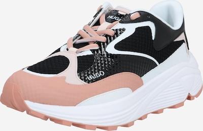 fáradt rózsaszín / fekete HUGO Rövid szárú edzőcipők 'Horizon', Termék nézet