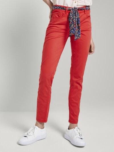 TOM TAILOR Jeans 'Alexa' in de kleur Rood, Modelweergave
