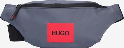 HUGO Heuptas 'Ethon' in de kleur Donkergrijs / Rood, Productweergave