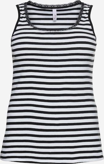 SHEEGO Top in schwarz / weiß, Produktansicht
