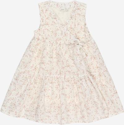 NAME IT Kleid 'FIREANT SPENCER' in zitrone / altrosa / weiß, Produktansicht