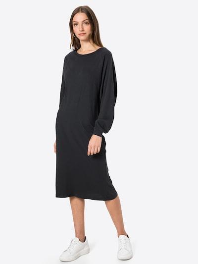 AMERICAN VINTAGE Robe 'Bedbrid' en gris foncé, Vue avec modèle