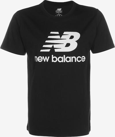 Tricou funcțional new balance pe negru / alb, Vizualizare produs