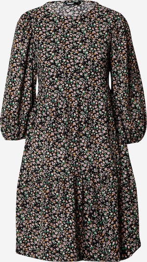 ONLY Robe 'Zille' en moutarde / vert / rose / noir, Vue avec produit
