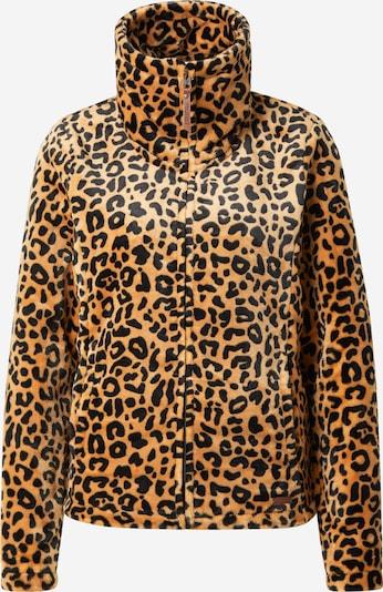 PROTEST Functionele fleece jas 'PACO 21' in de kleur Bruin / Zwart, Productweergave