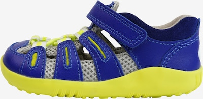 Bobux Sandale 'SU Summit ' in blau / neongelb / weiß, Produktansicht