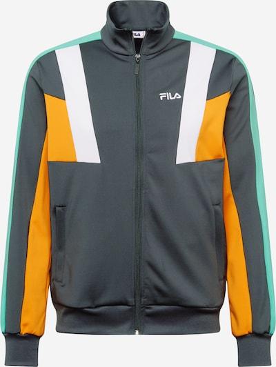 FILA Tussenjas 'AJAX' in de kleur Jade groen / Sinaasappel / Zwart, Productweergave