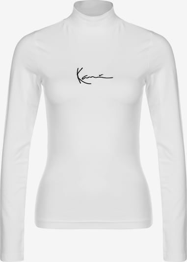 Karl Kani Sweat-shirt ' Small Signature Turtle ' en blanc, Vue avec produit