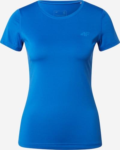 4F Sportshirt in blau, Produktansicht
