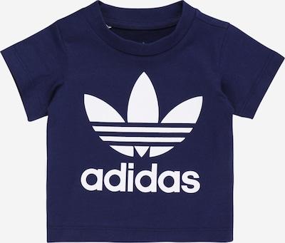 ADIDAS ORIGINALS T-Shirt in dunkelblau / weiß, Produktansicht
