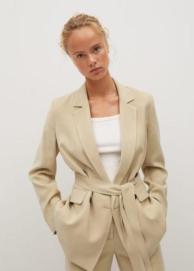 MANGO Blazer 'Tenzi' in beige, Modelansicht