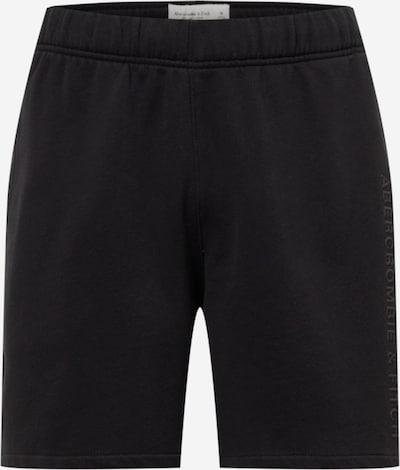 Abercrombie & Fitch Hose in schwarz, Produktansicht