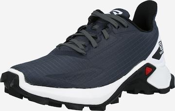 Pantofi sport 'ALPHACROSS BLAST' de la SALOMON pe gri