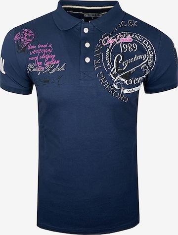 Rusty Neal Poloshirt in Blau