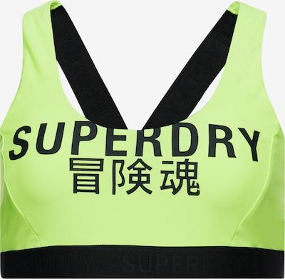 Superdry Bikinitop in de kleur Groen / Zwart, Productweergave