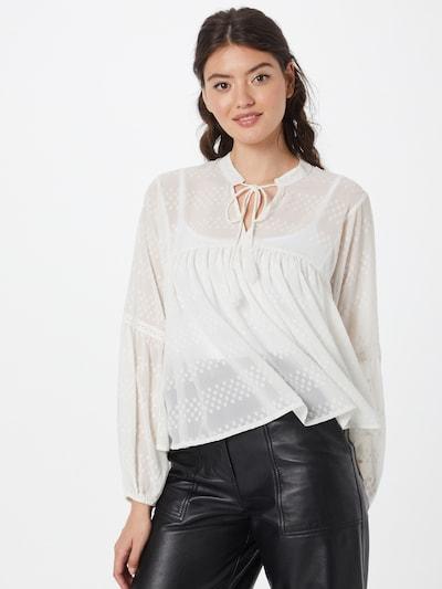 ONLY Bluse 'NEW ELISA' in naturweiß, Modelansicht