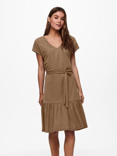 ONLY Kleid 'Wera' in mokka, Modelansicht
