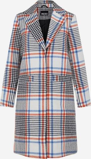 PIECES Mantel in blau / rot / weiß, Produktansicht