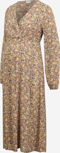 Pieces Maternity Kleid 'GRY' in gelb / curry / grün / rosé / schwarz, Produktansicht