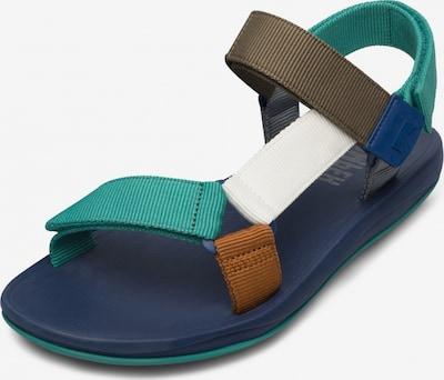 CAMPER Sandalen 'Match' in karamell / brokat / grau / jade / weiß, Produktansicht