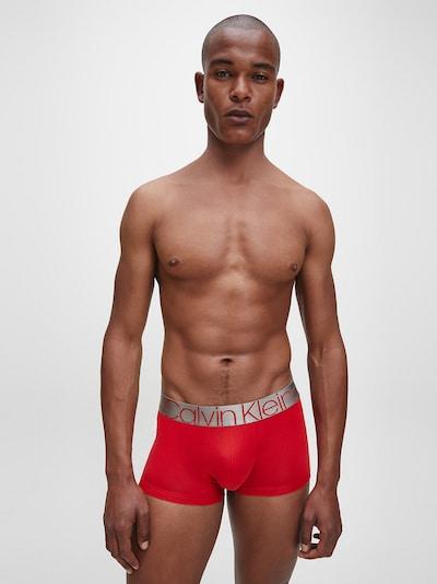 Calvin Klein Underwear Boksershorts i lys rød / sølv, Modelvisning